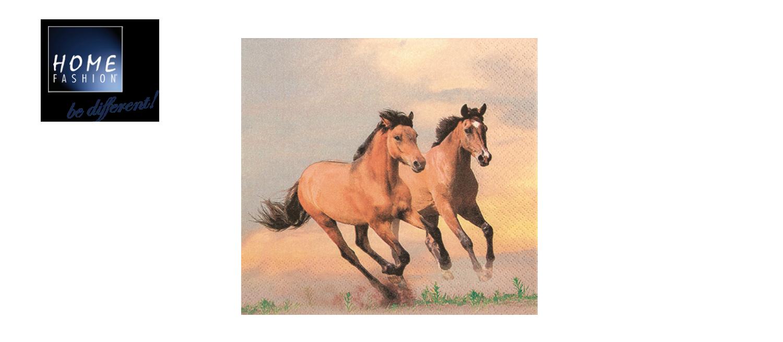 Wild Horses - Servietten 33x33
