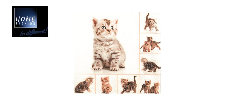 Meow - Servietten 33x33