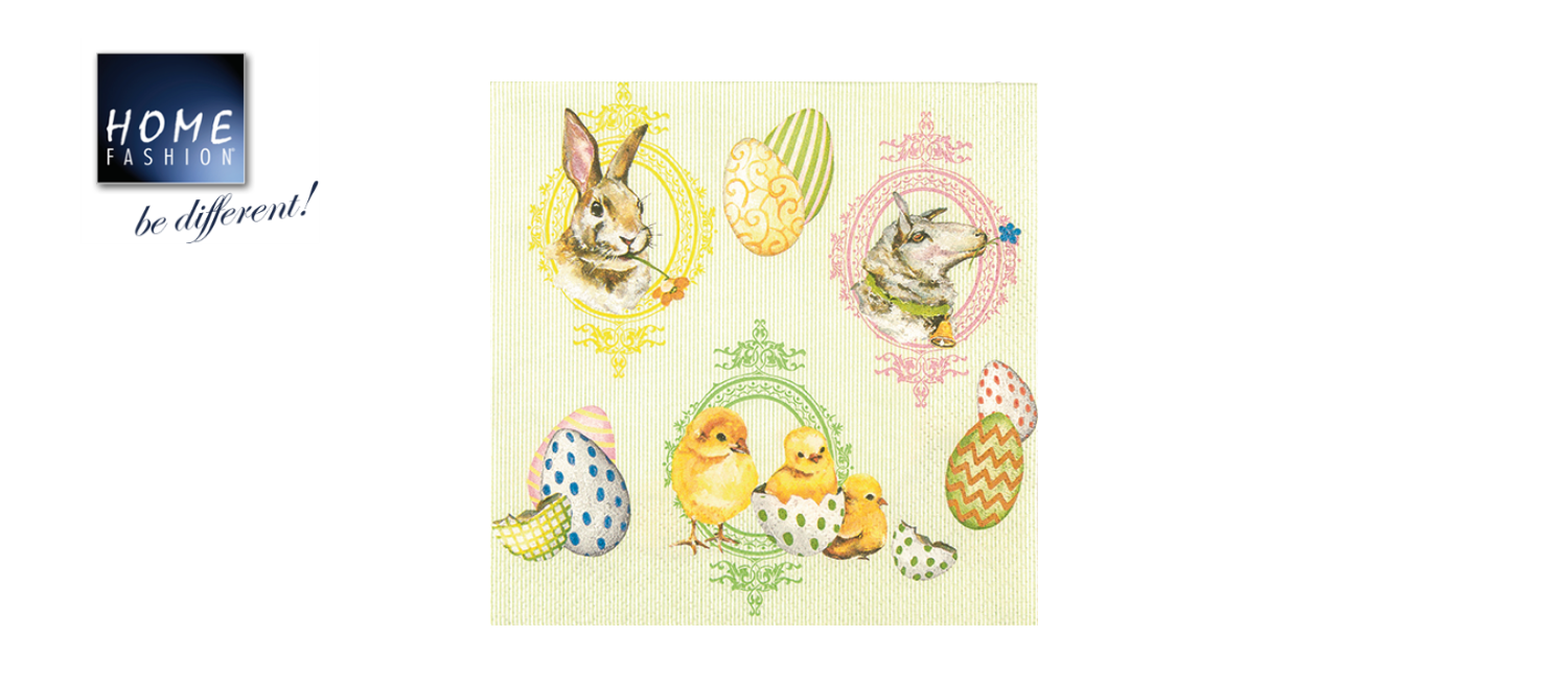 Easter Mix - Servietten 33x33