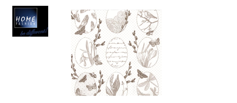 Delicate Easter - Servietten 33x33