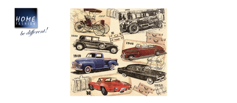 Classic Cars - Servietten 33x33