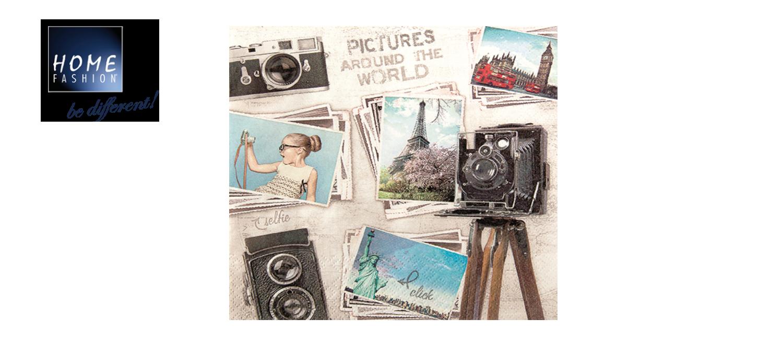 Travelpictures - Servietten 33x33