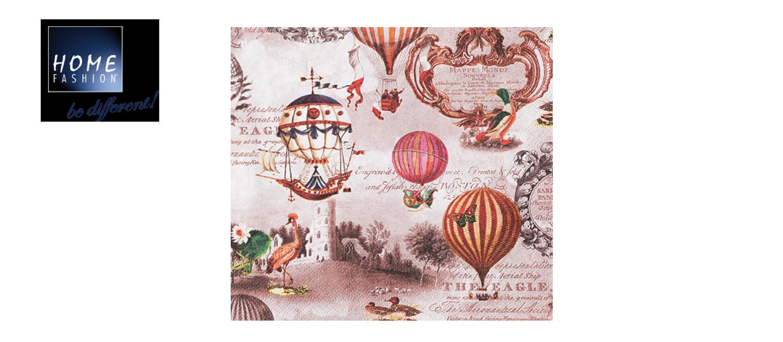 Vintage Ballons - Servietten 33x33