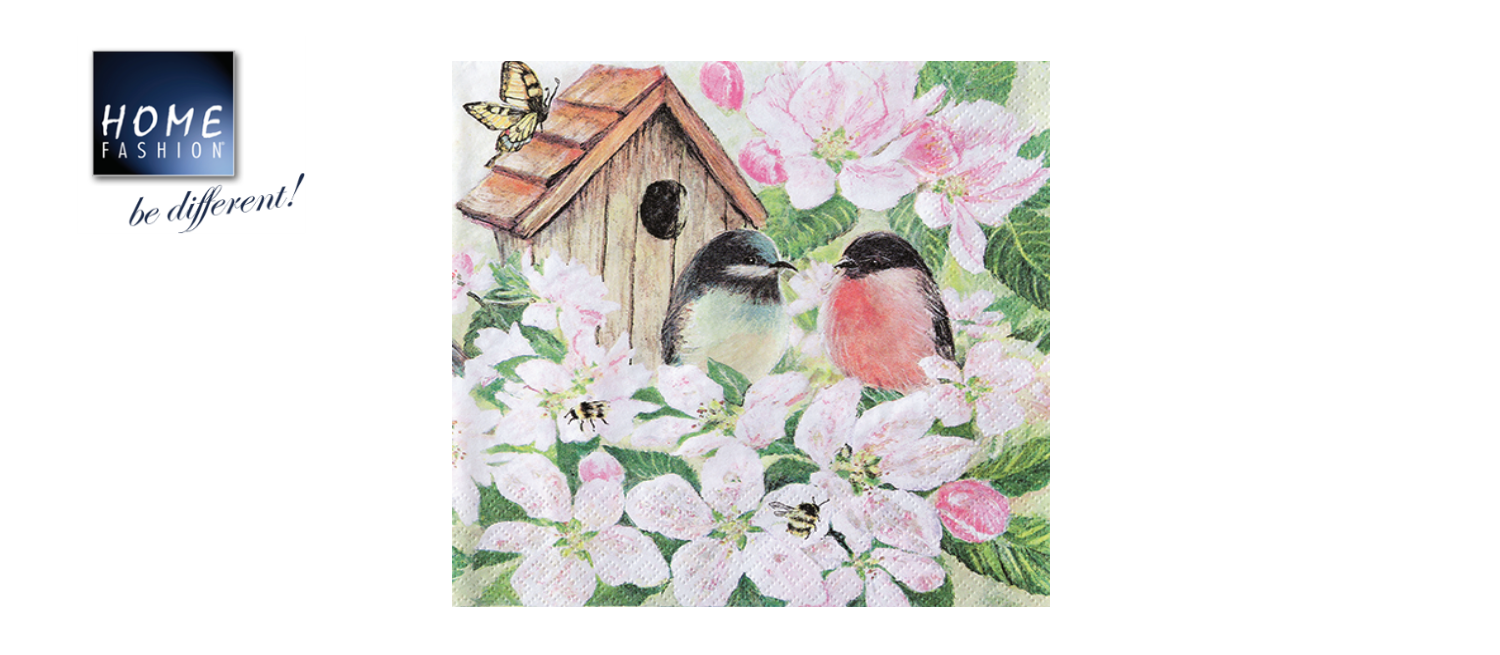 Birds and Blossom - 33x33
