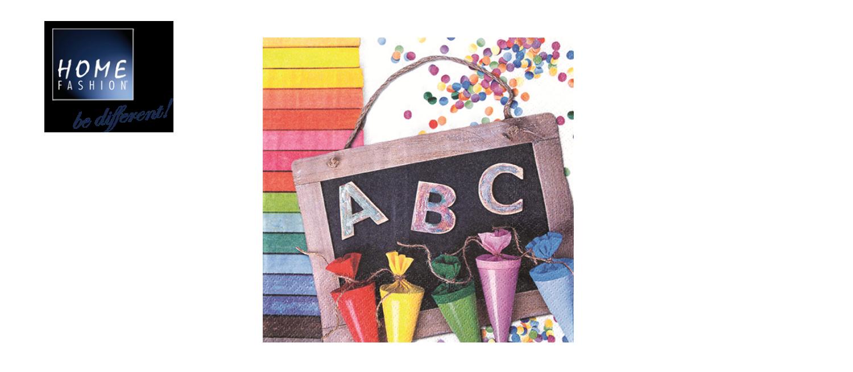 ABC 123 Schuleingang - 33x33
