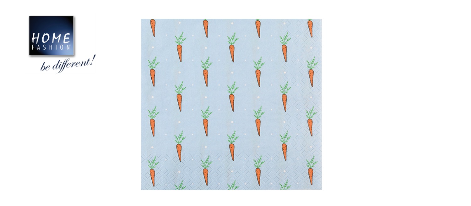 Just Carrots - Servietten 33x33