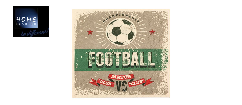 Football - Servietten 33x33