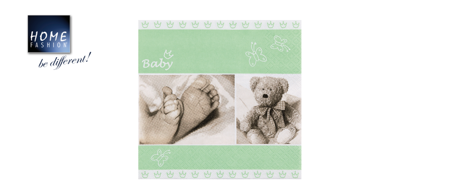 Baby light green - Servietten 33x33