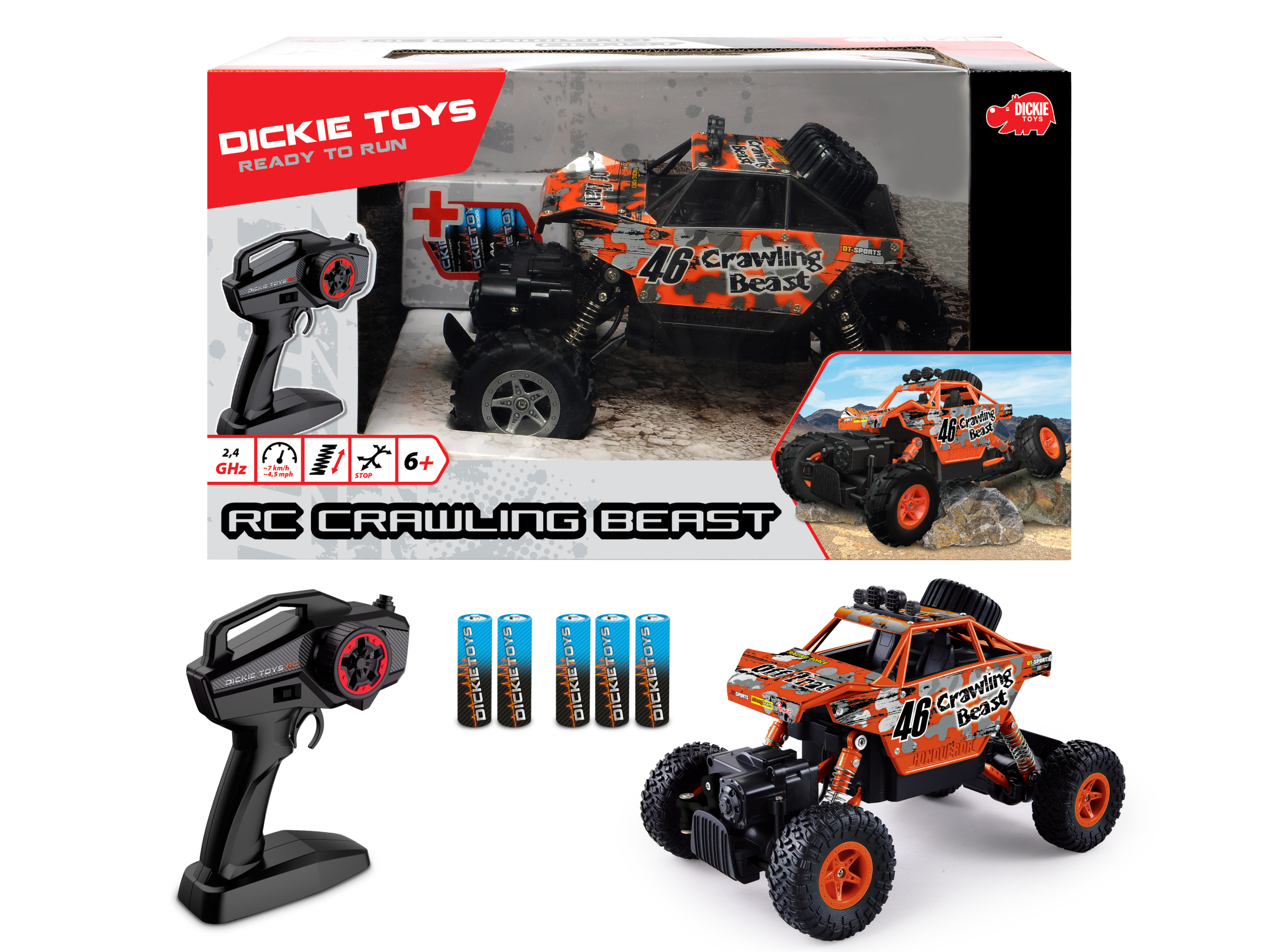 RC Crawling Beast RTR 2.4GHz