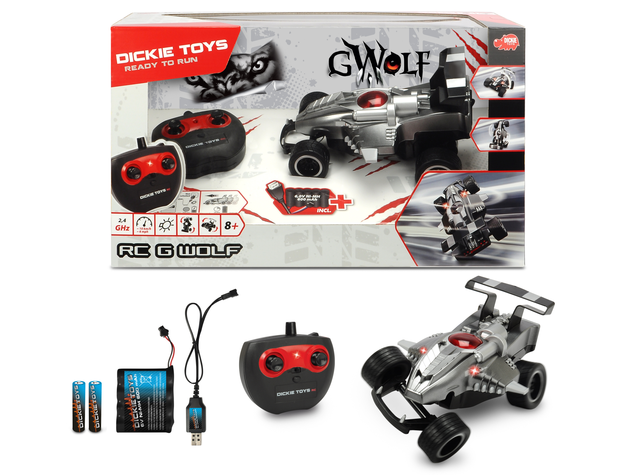RC G-Wolf RTR 2.4GHz