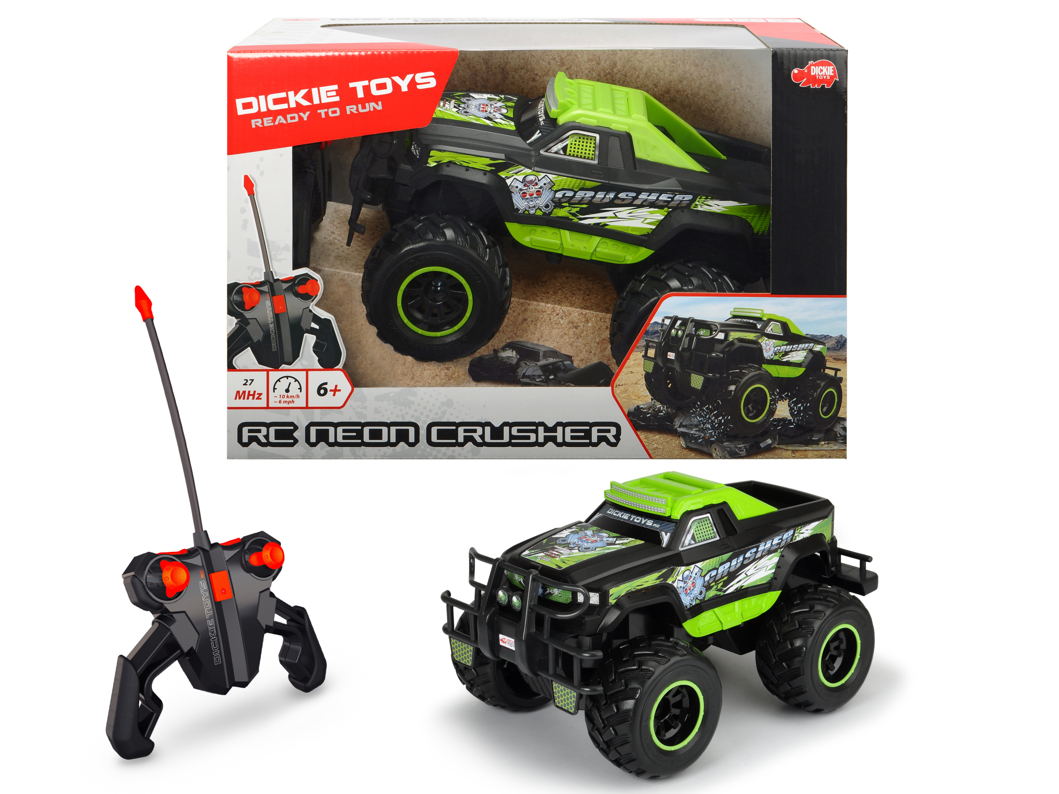 RC Neon Crusher RTR