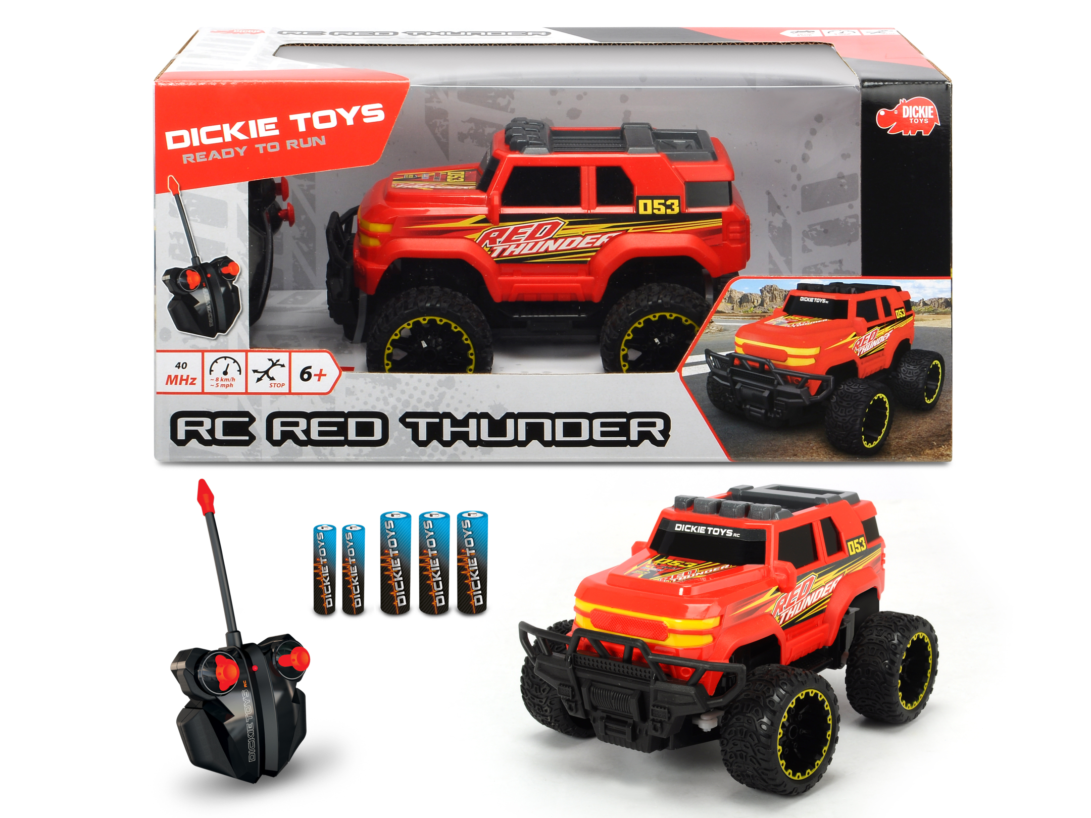 RC Red Thunder RTR