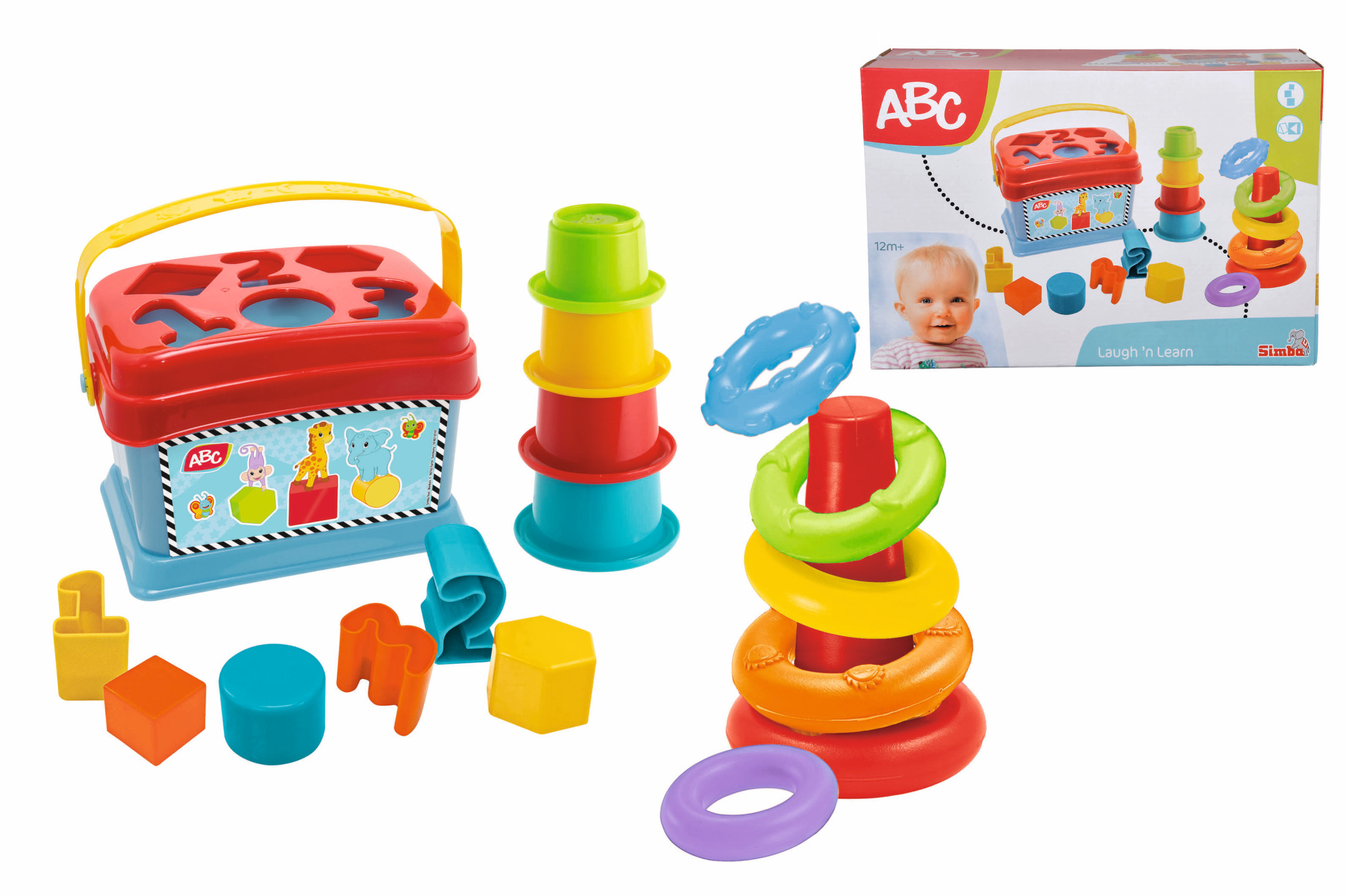 ABC Baby Spielset - Ringpyramide