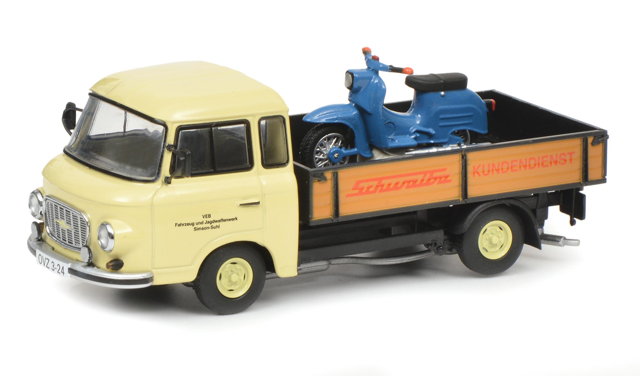 Barkas B 1000 Pritschenwagen 1:43