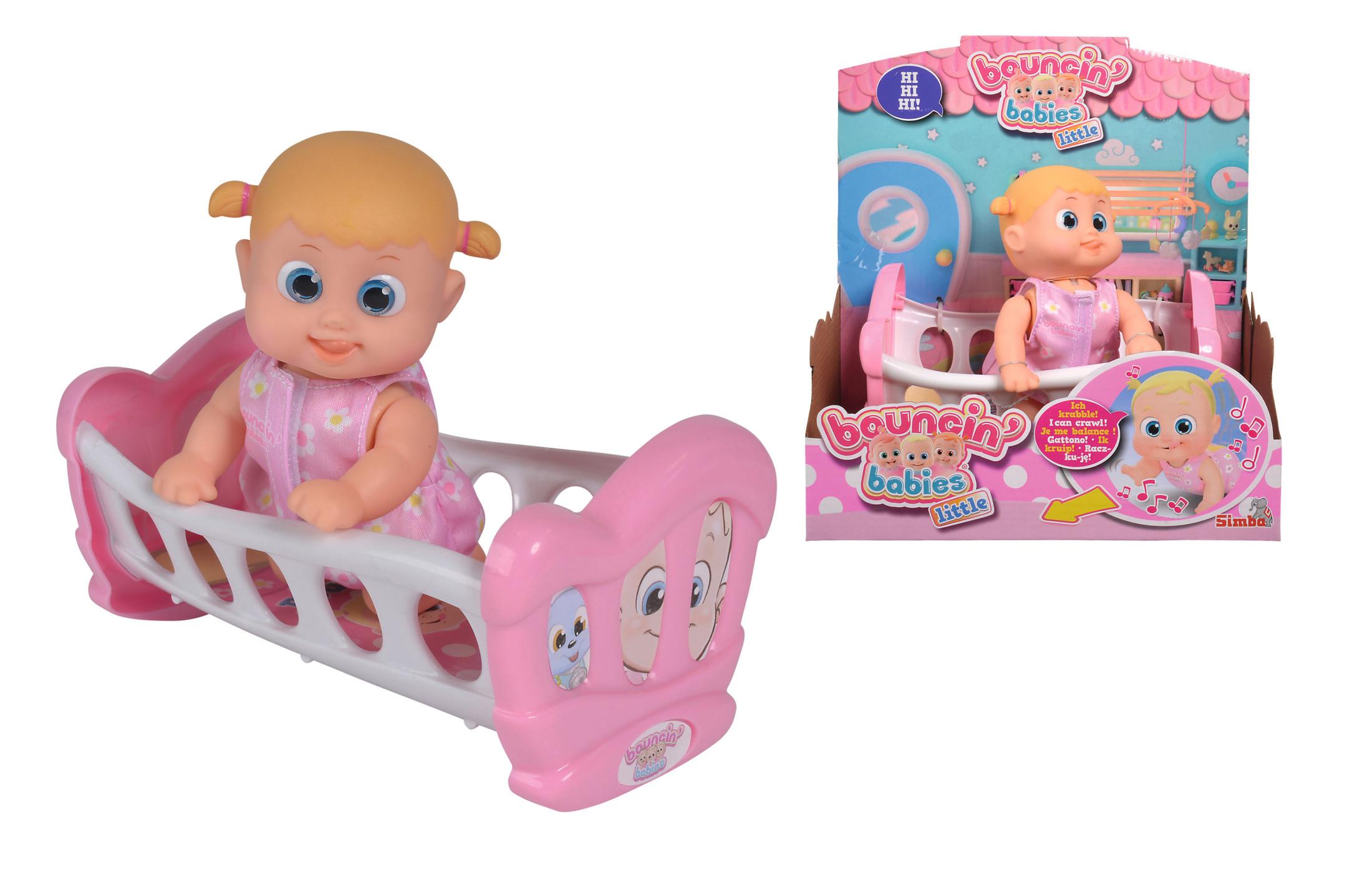 Bouncin Babies Little Bonny mit Wiege