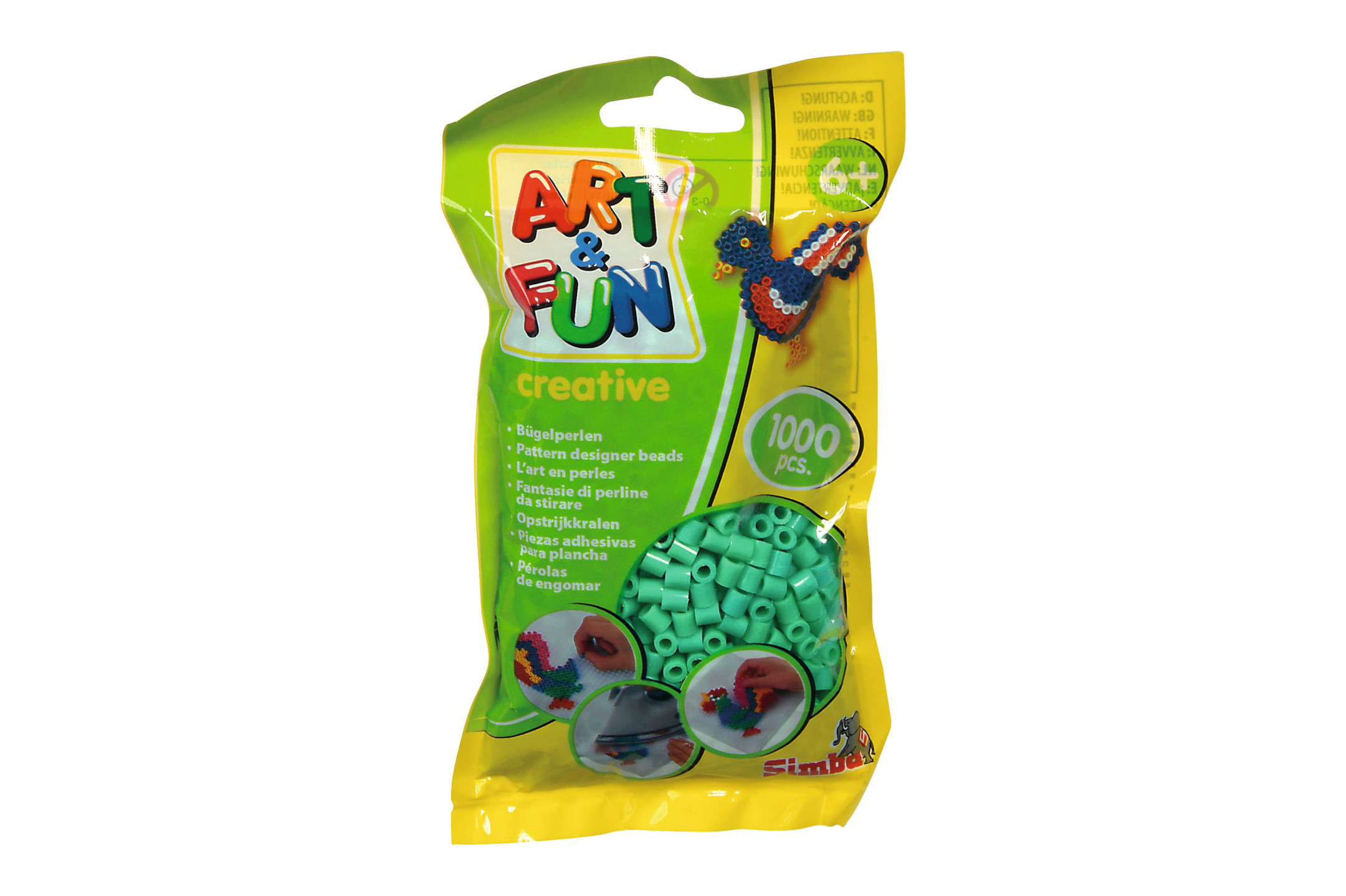 A&F 1.000 Bügelpereln im Beutel grün