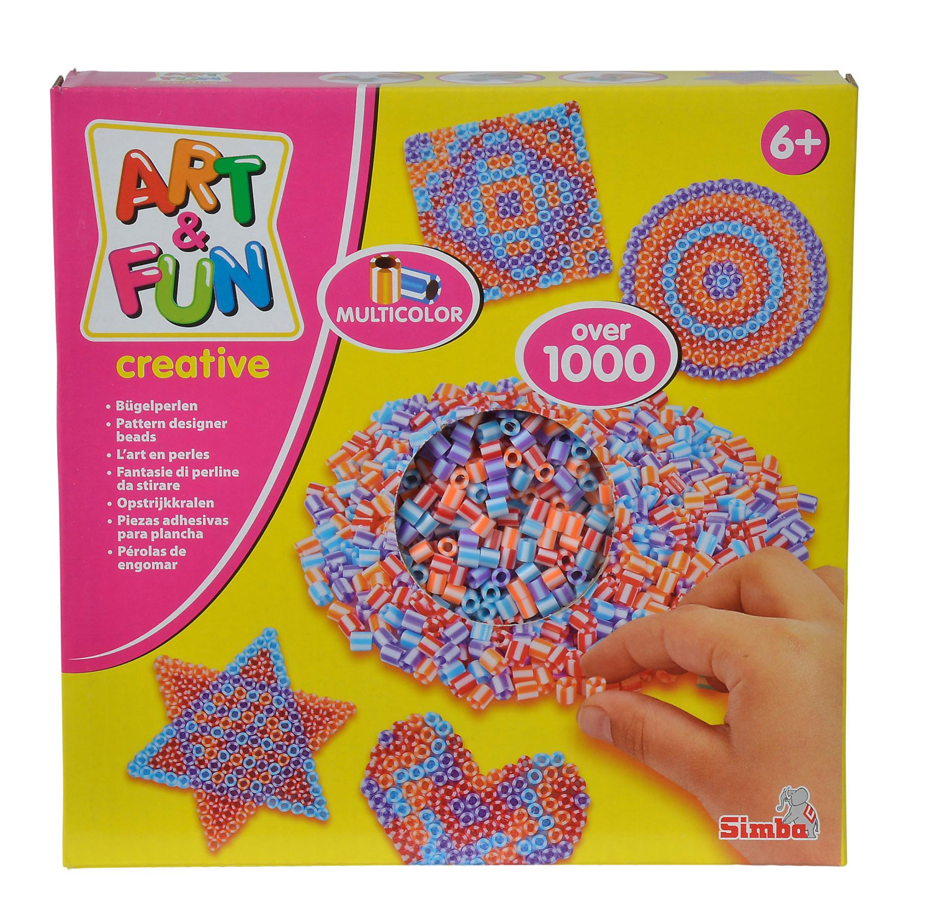 A&F 1000 Bügelperlen Multi-Color