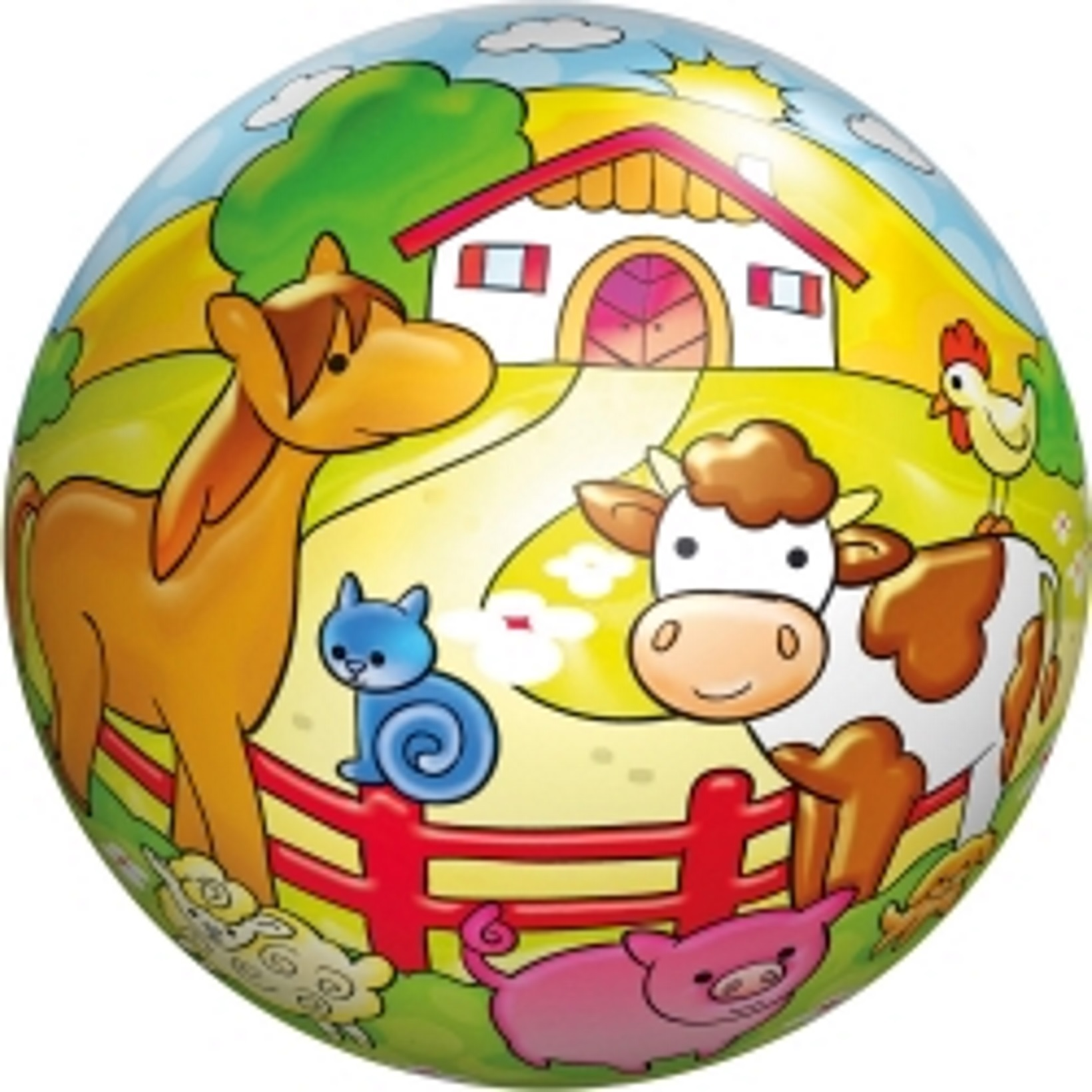 Bauernhof Buntball 18cm