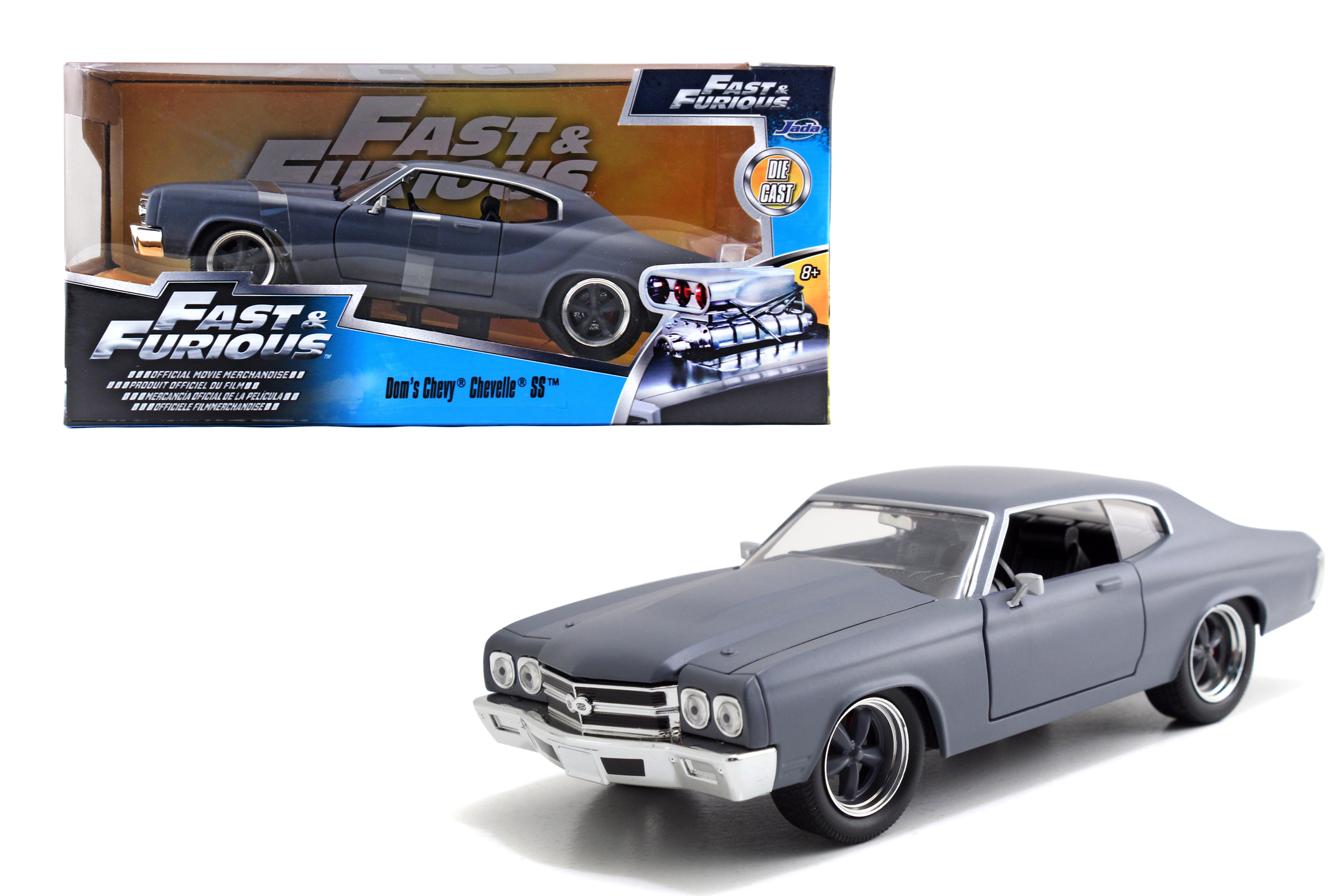 Fast&Furious 1970 Chevy Chevelle SS 1:24