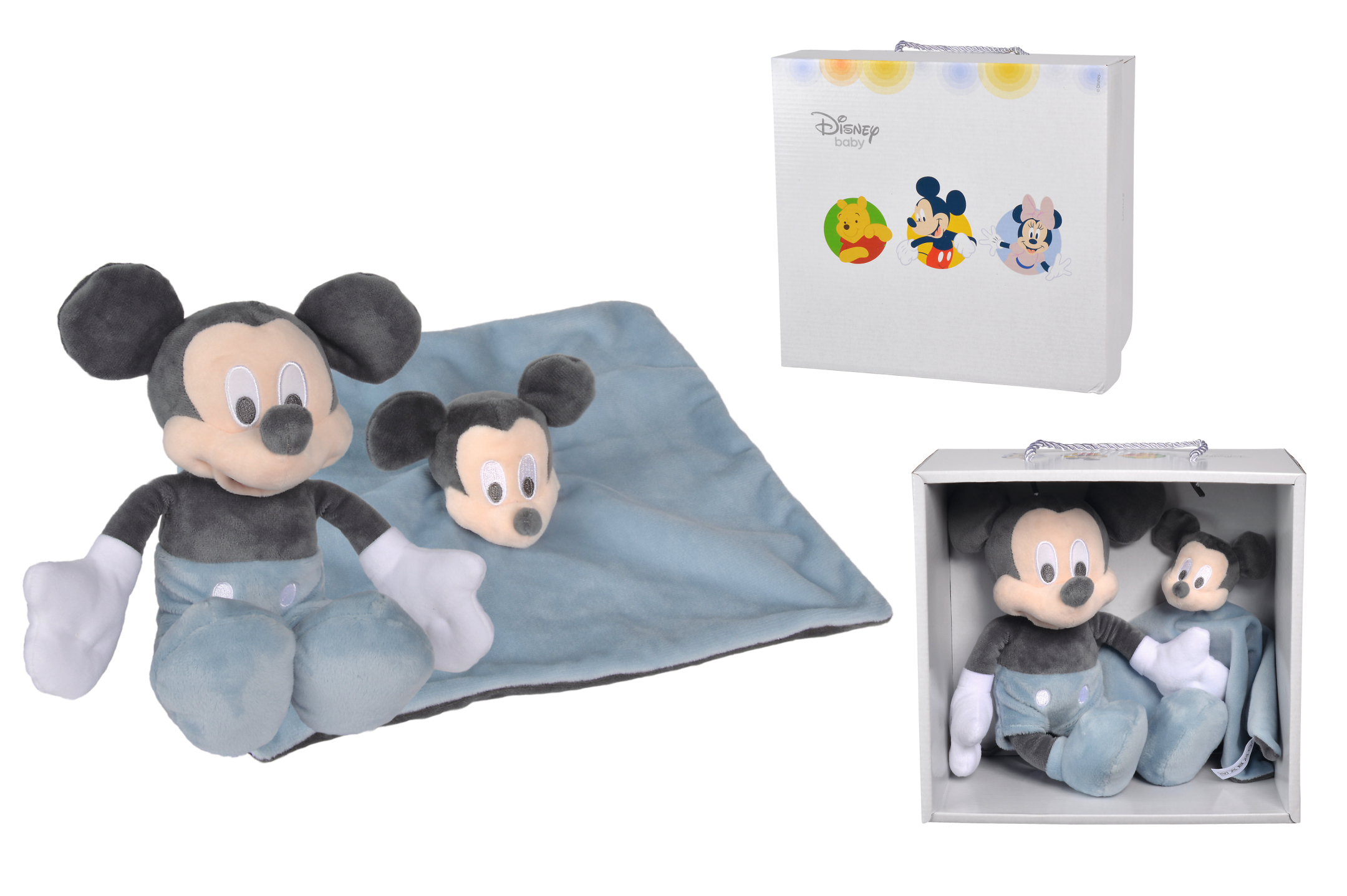 Disney Mickey Tonal Blau, Set 2-tlg.