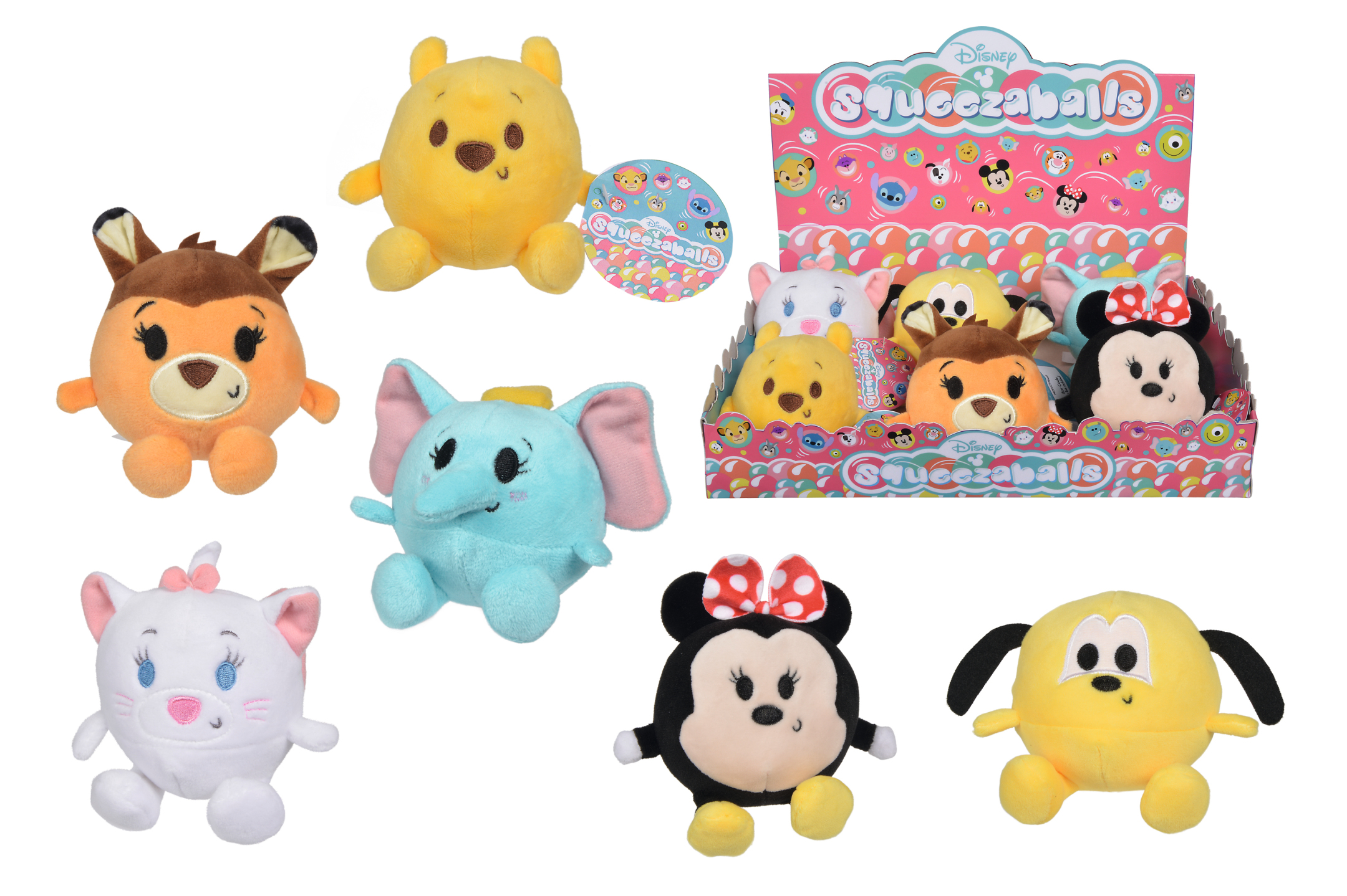 Disney Squeezaballs 6fs