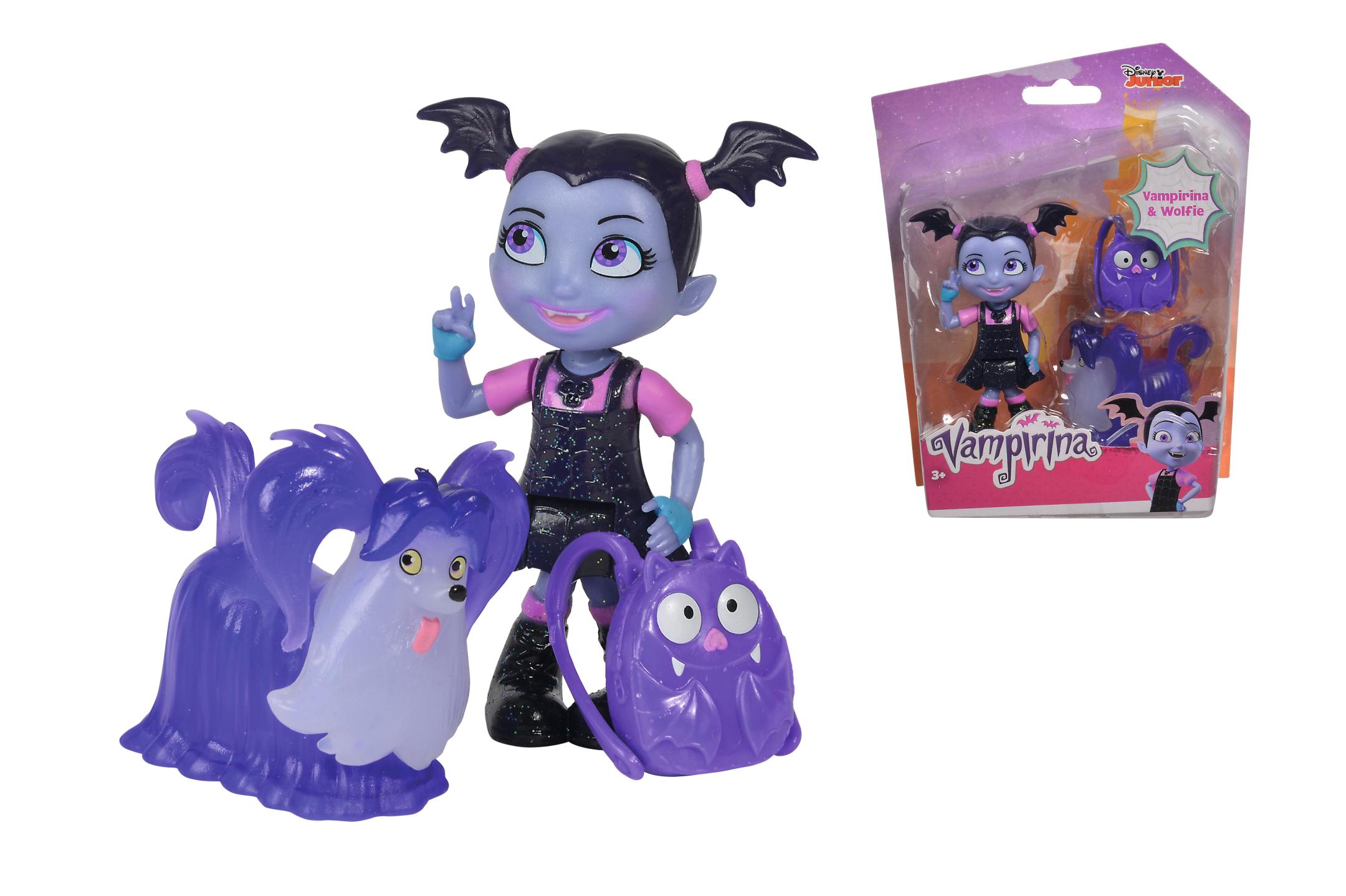 Disney Vampirina und Wolfie