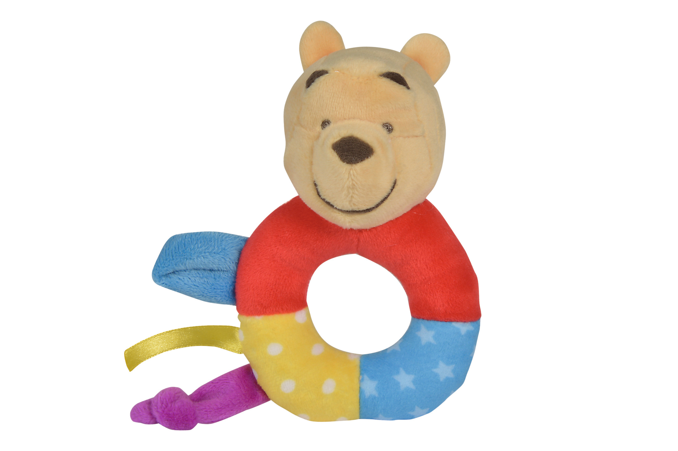 Disney Winnie Puuh Ring Rassel Color
