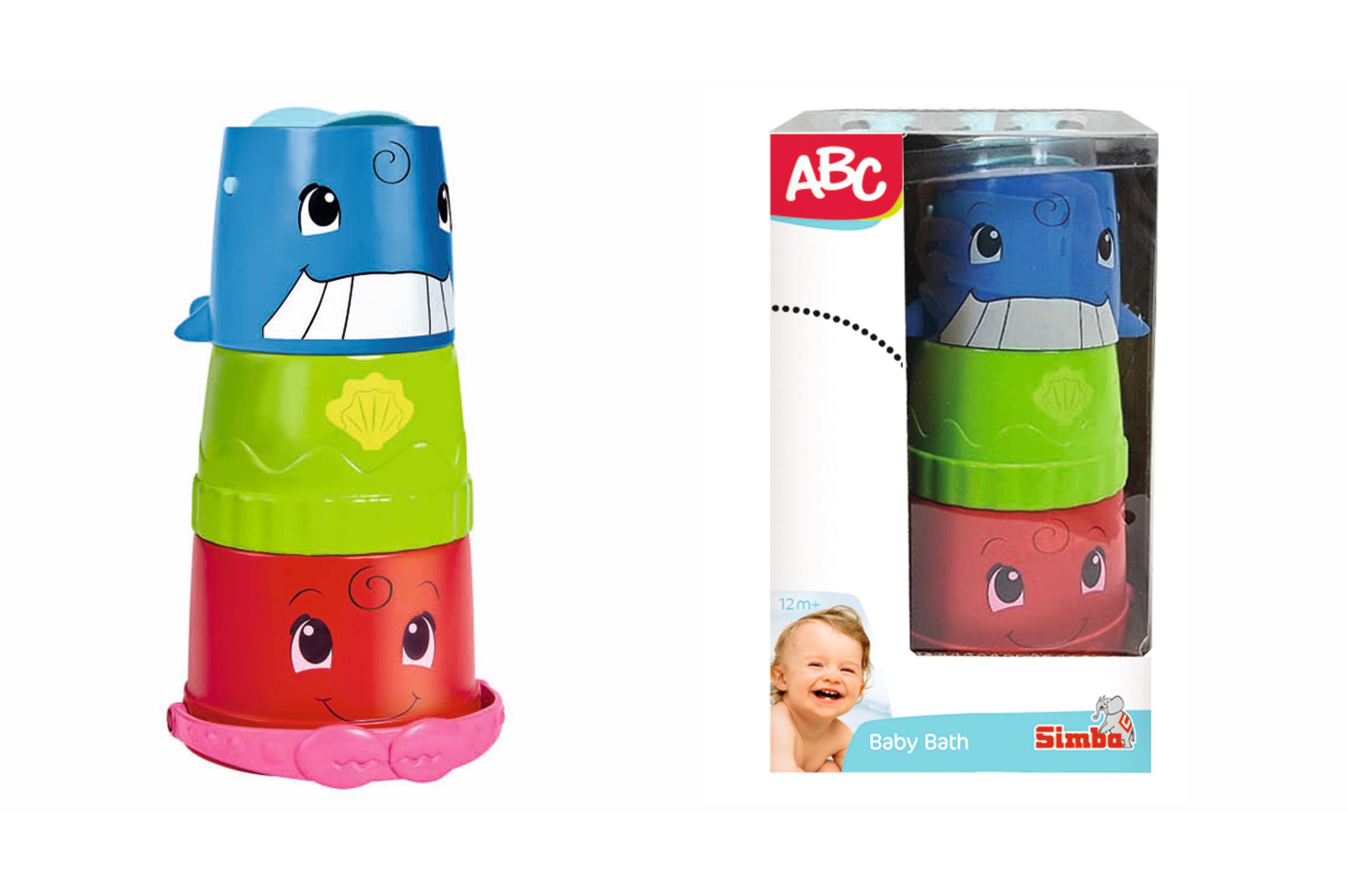 ABC Eimerchen mit Stapelbecher