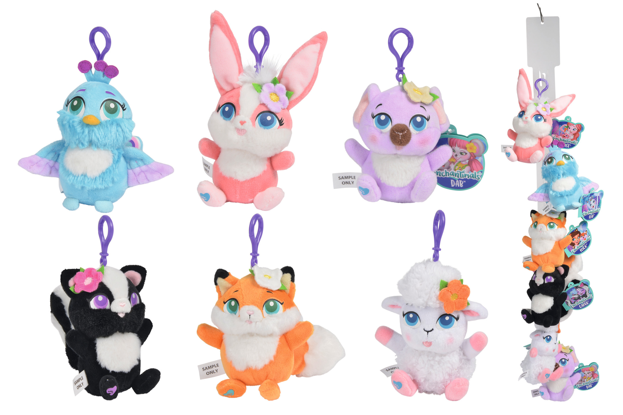 Enchantimals Plush Bag Clip 13cm