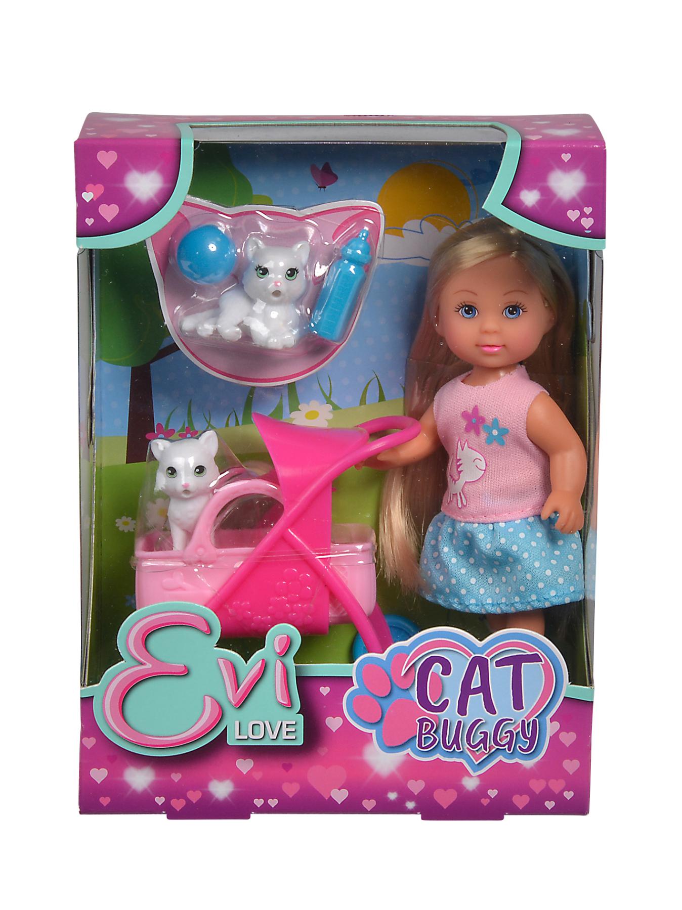Evi Love mit Cat Buggy 12cm