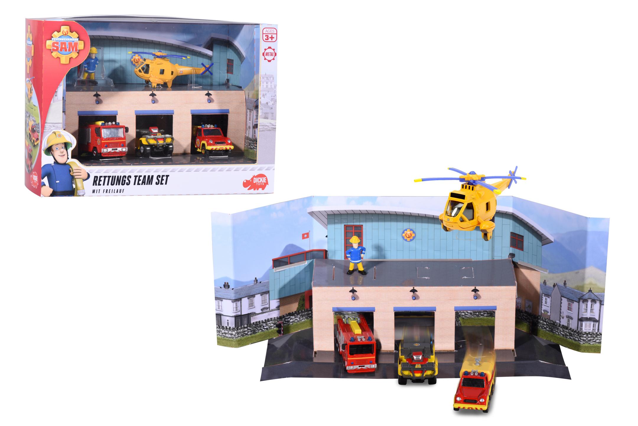 Fireman Sam Feuerwehr Set