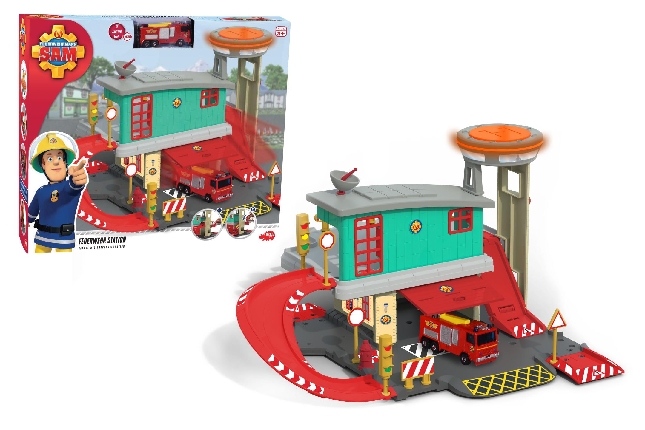 Fireman Sam Feuerwehrstation