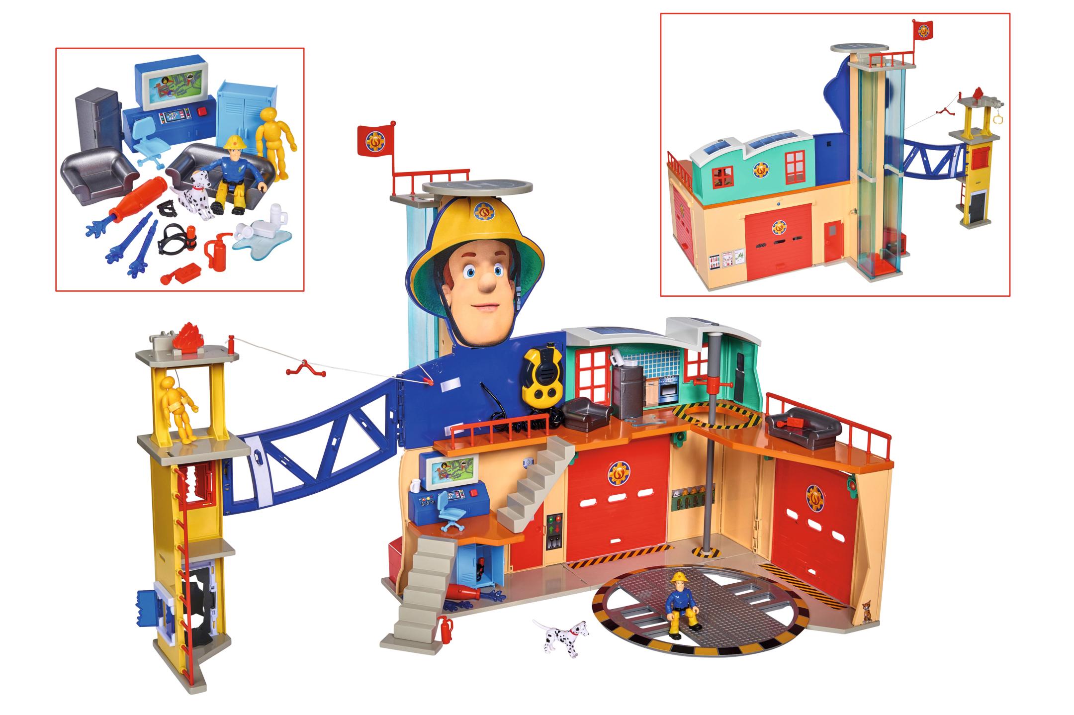 Fireman Sam Feuerwehrstation XXL