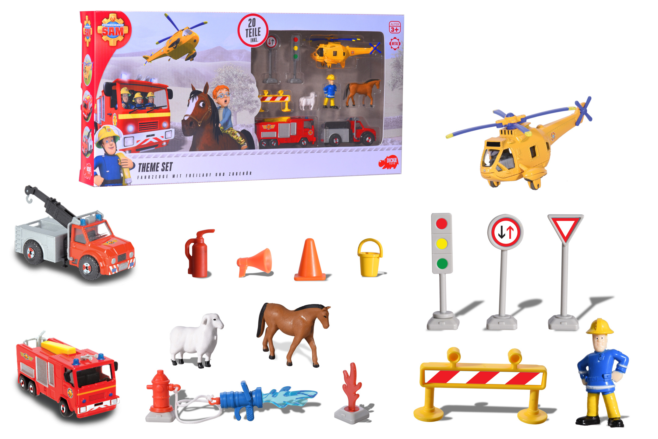 Fireman Sam Themen Set