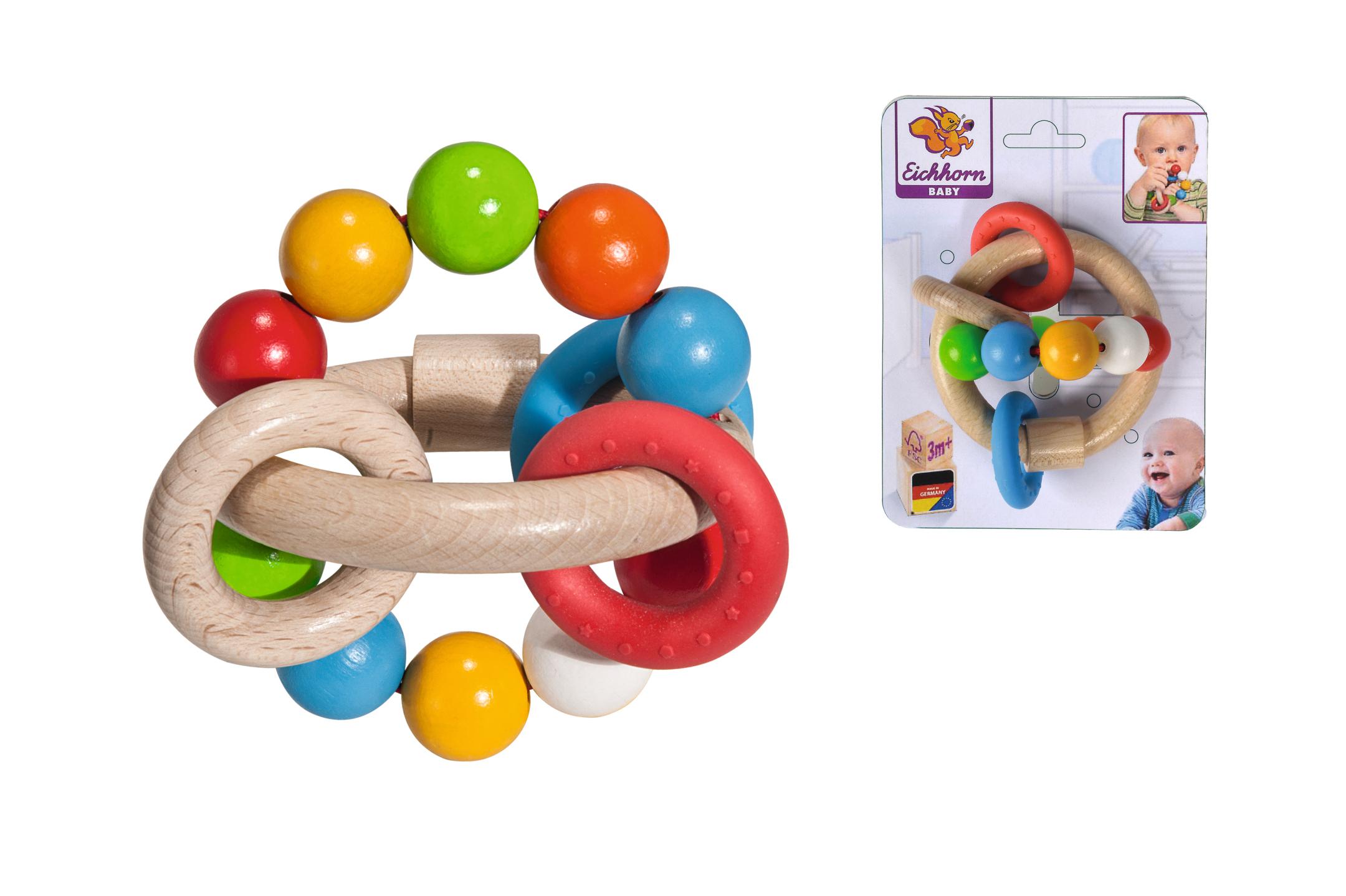 Eichhorn Baby - 3D Greifling