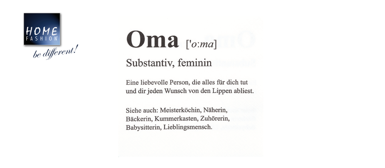 Oma - Servietten 33x33
