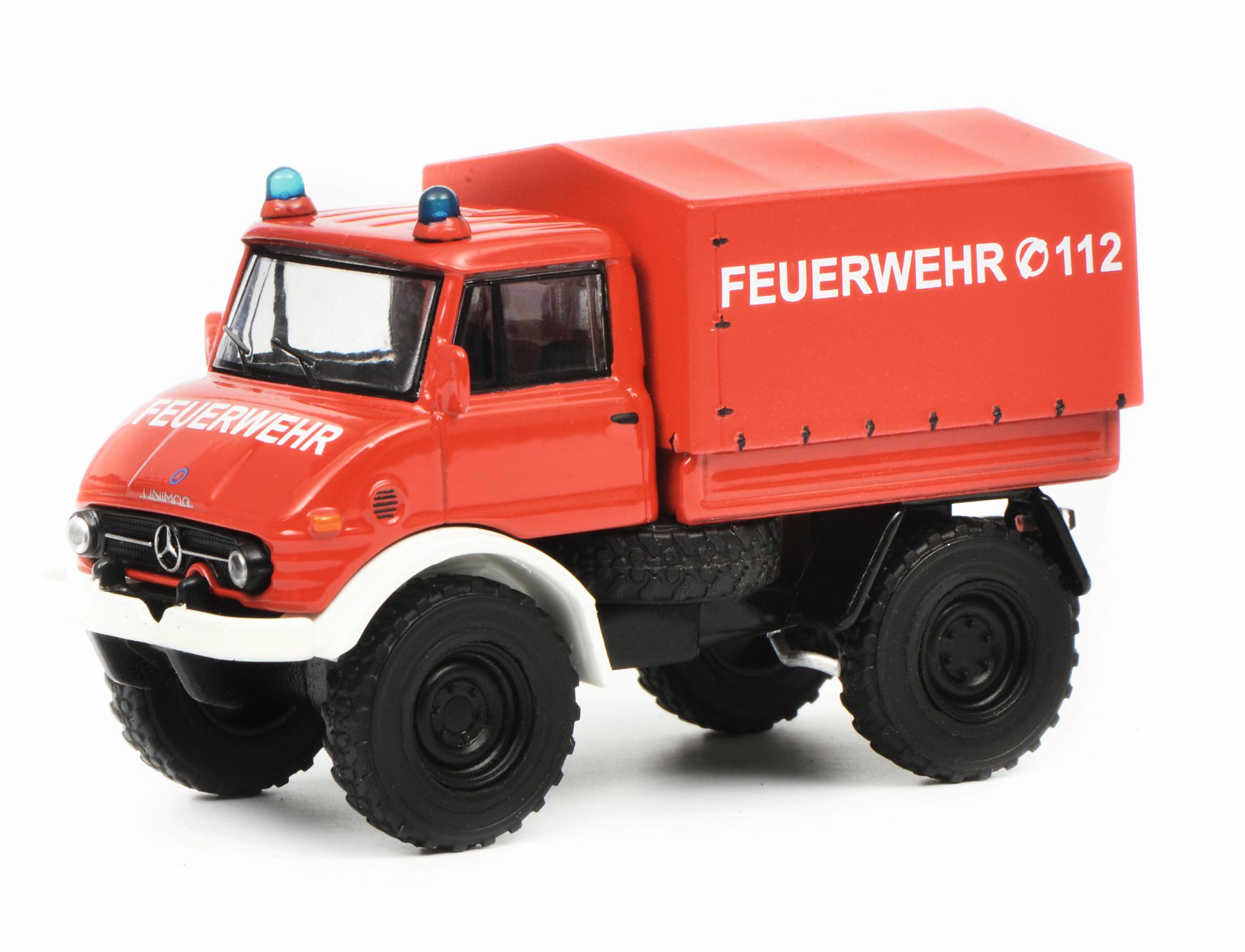 Mercedes Benz Unimog Feuerwehr 1:64