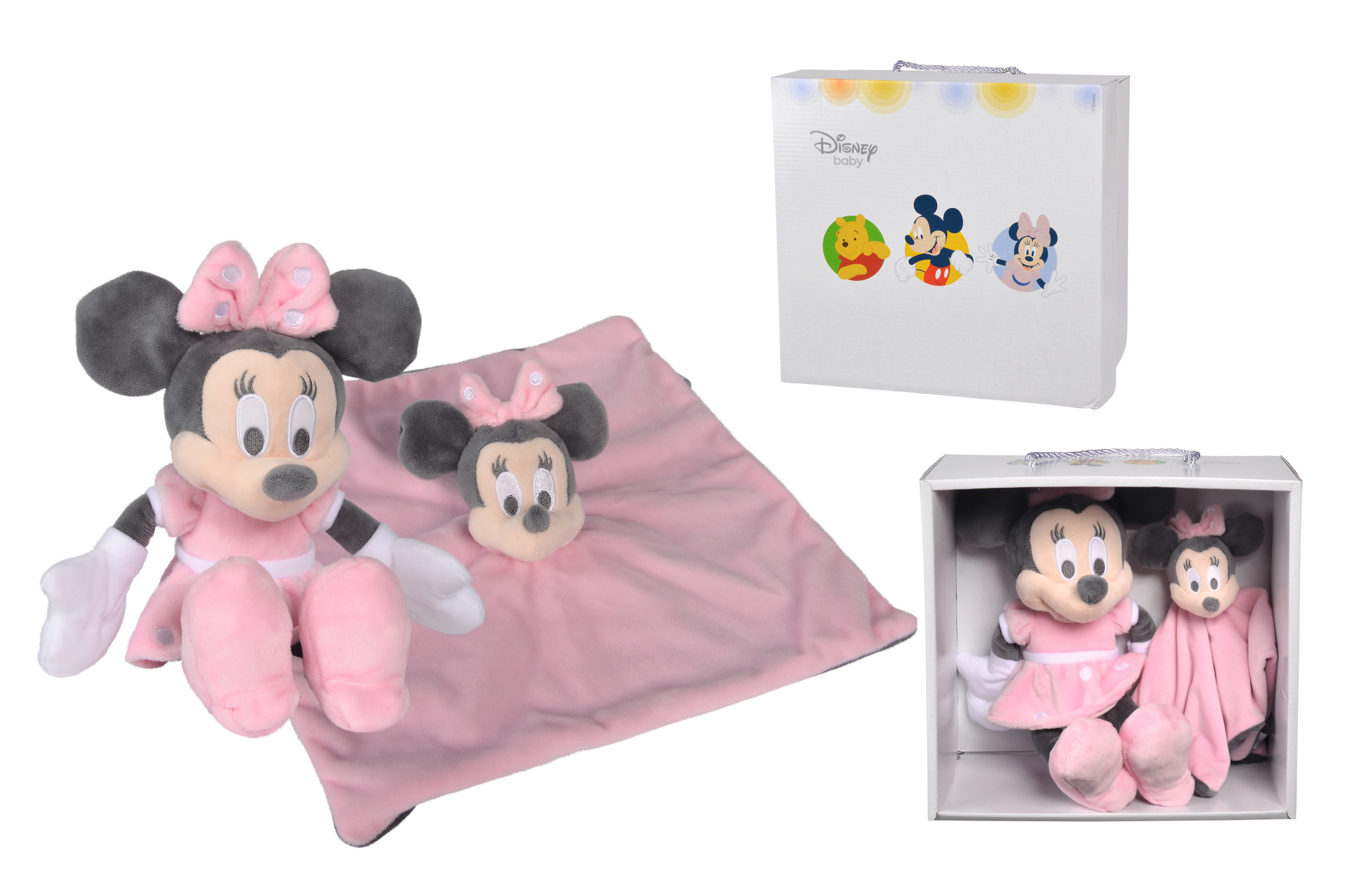 Disney Minnie Tonal Pink, Set 2-tlg.