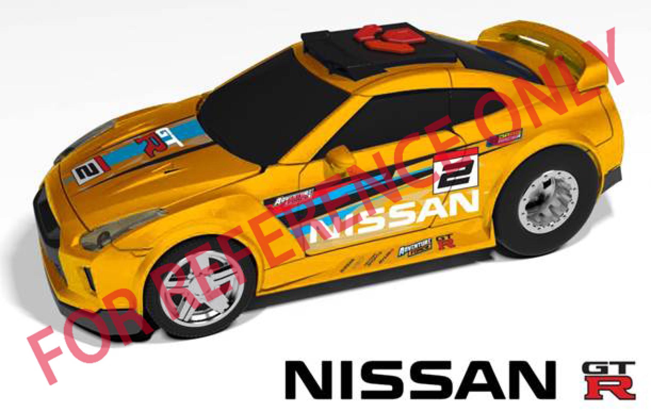 Nissan GTR - Wheelie Raiders