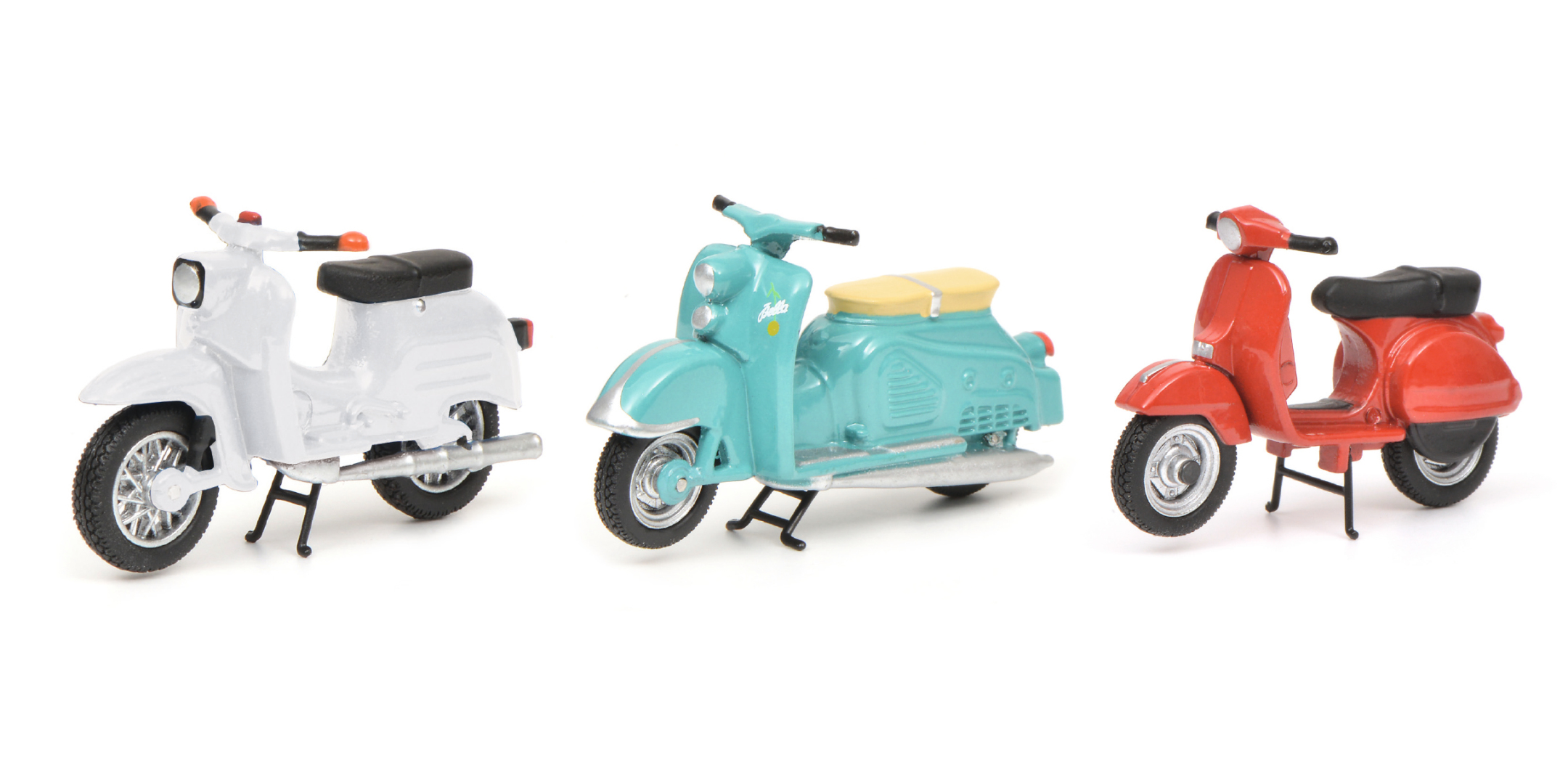 Piccolo Set - Mopeds und Roller 1:43