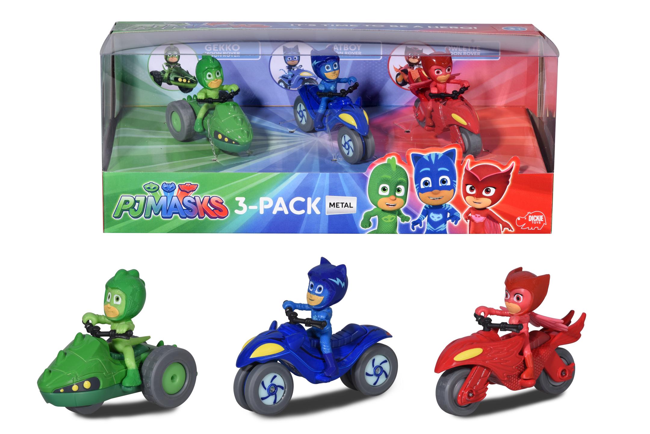 PJ Masks 3er Pack
