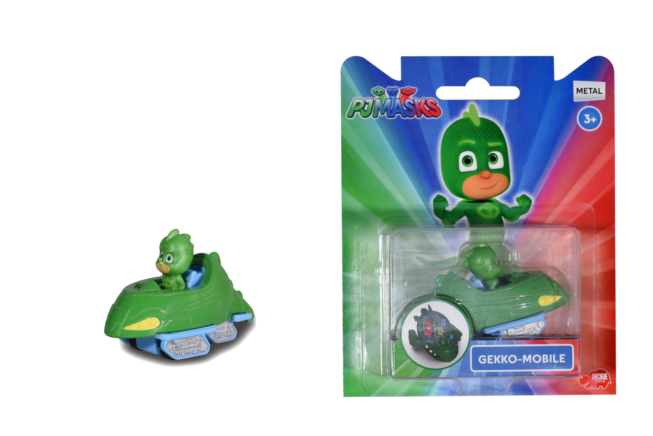 PJ Masks Single Pack Gekko-Mobile