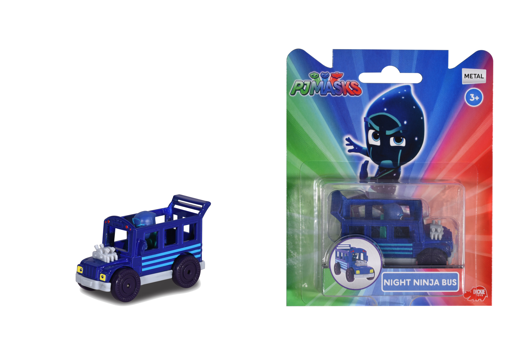 PJ Masks Single Pack Night Ninja Bus