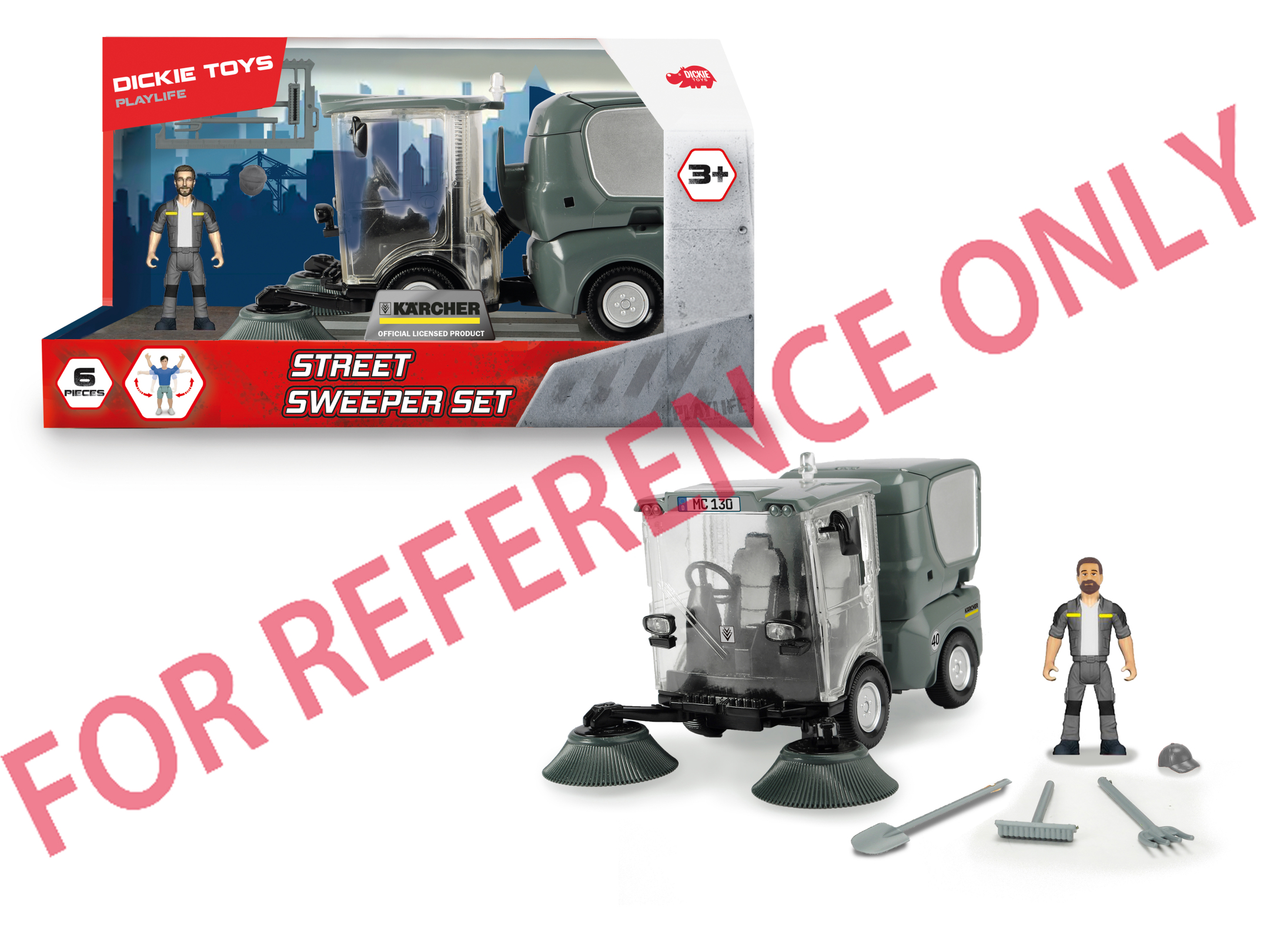 Playlife - Street Sweeper Set
