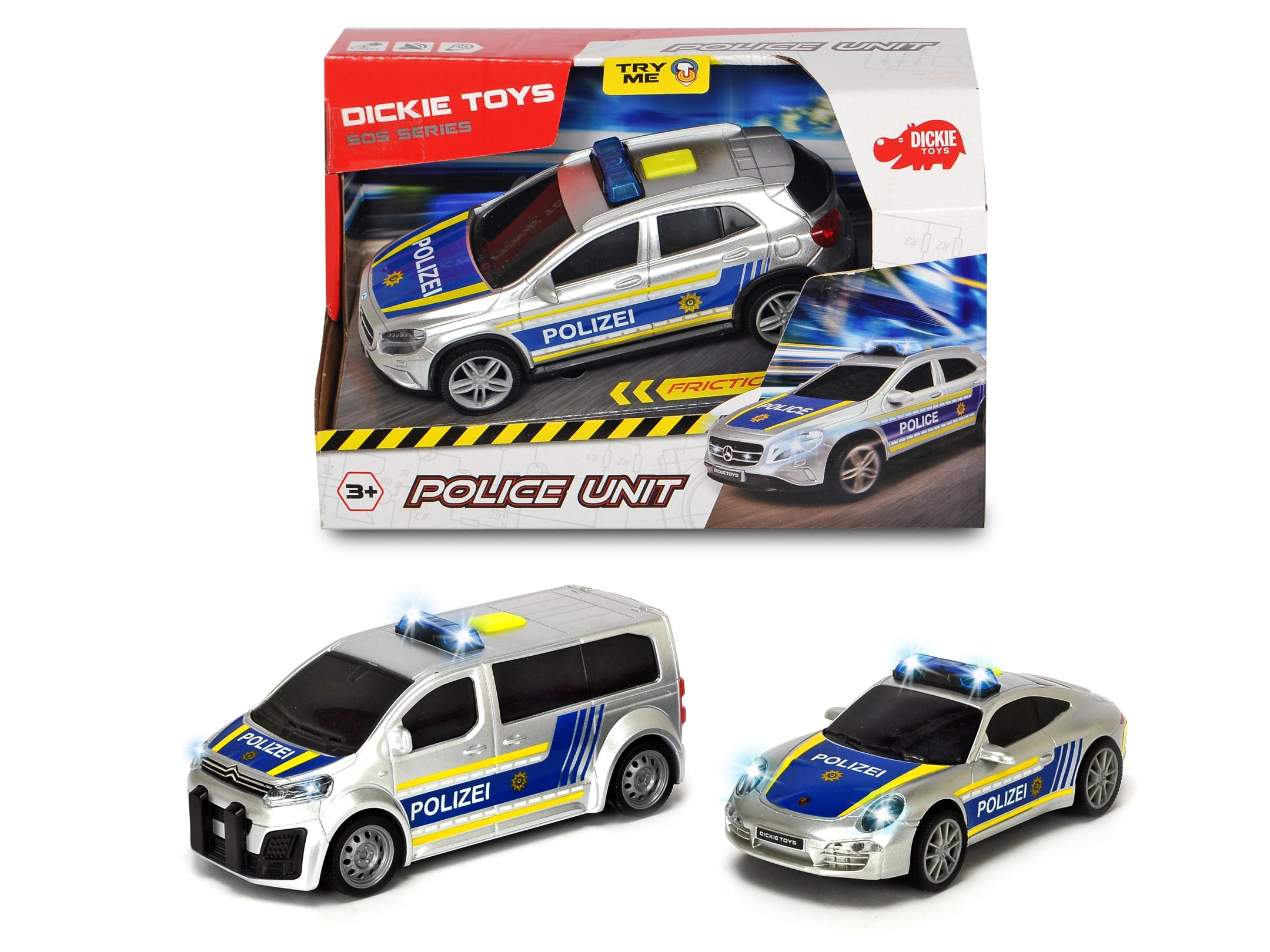 Polizeifahrzeuge 3fs
