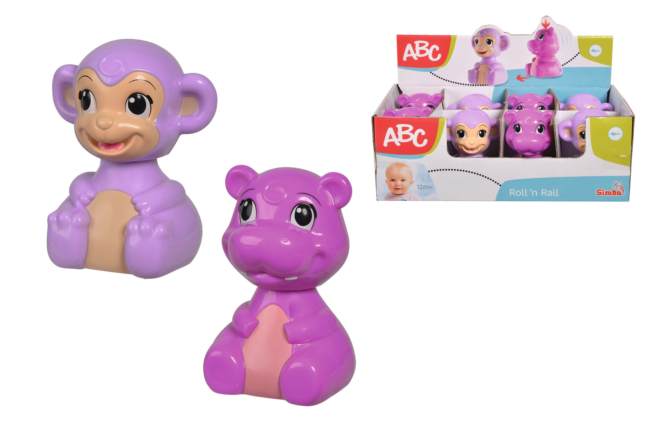 ABC Press'n go Tiere 2fs