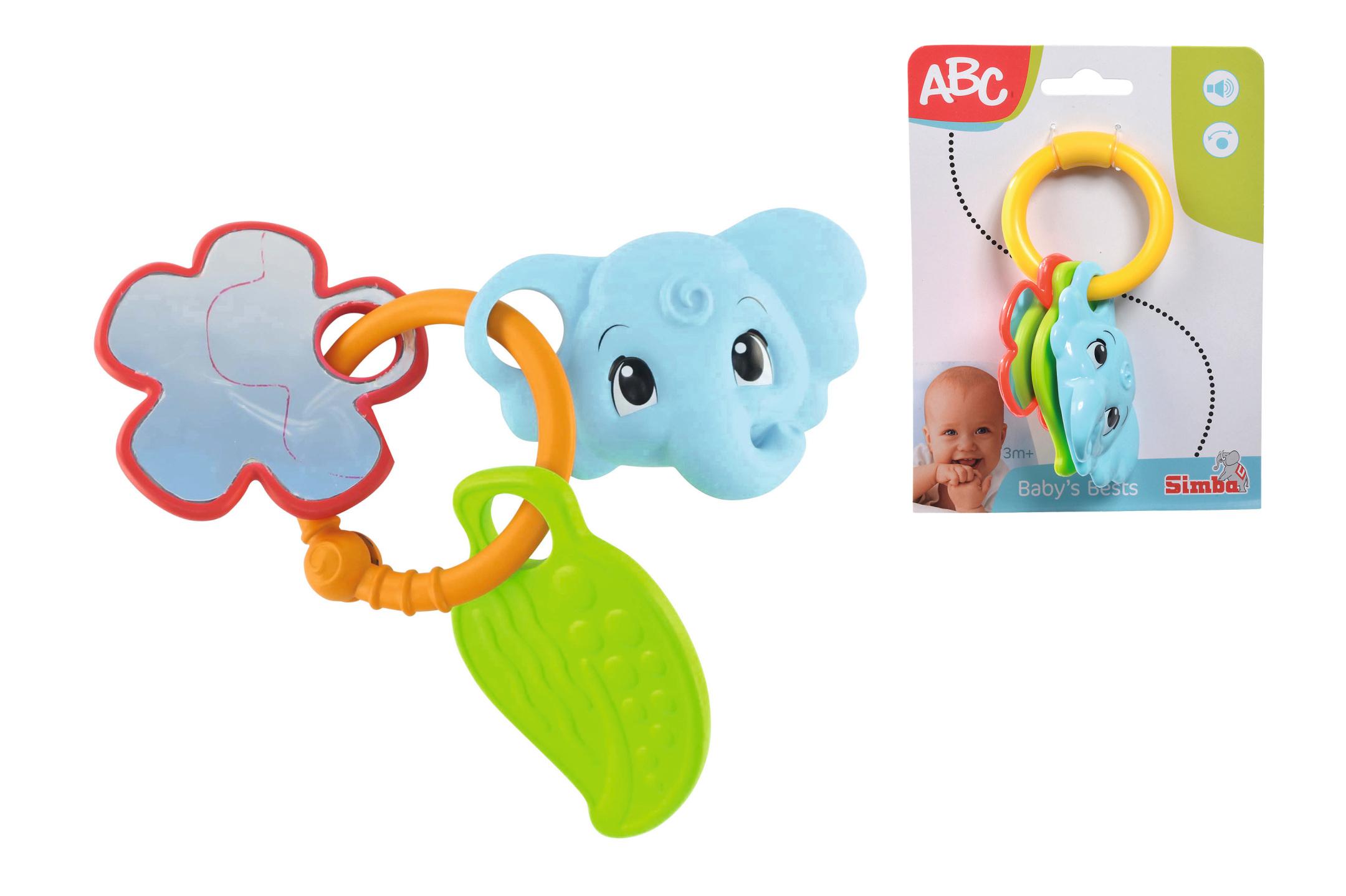 ABC Baby Ringrassel Elefant