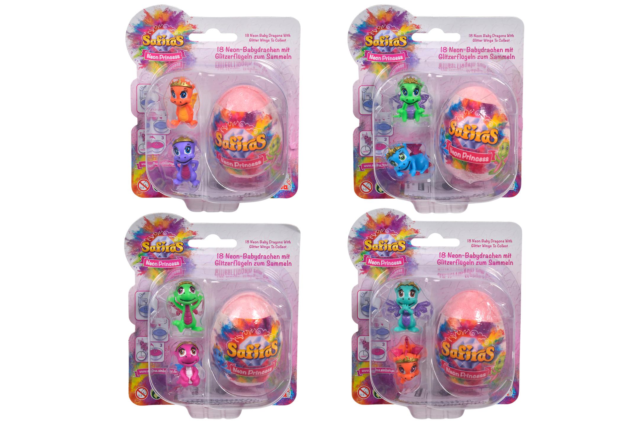 Safiras V Neon Princess 3er Pack