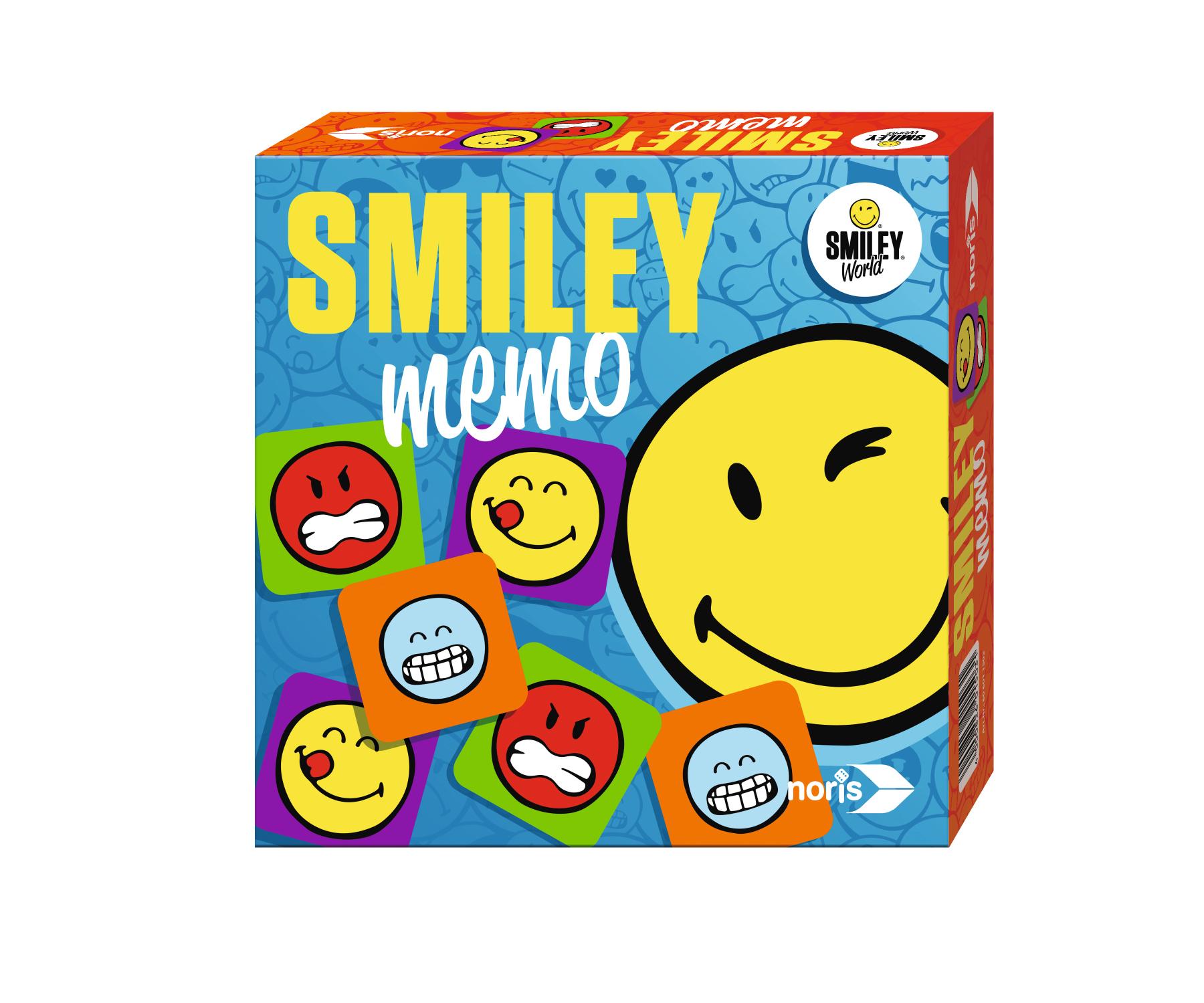 Kinderspiel Smiley Memory