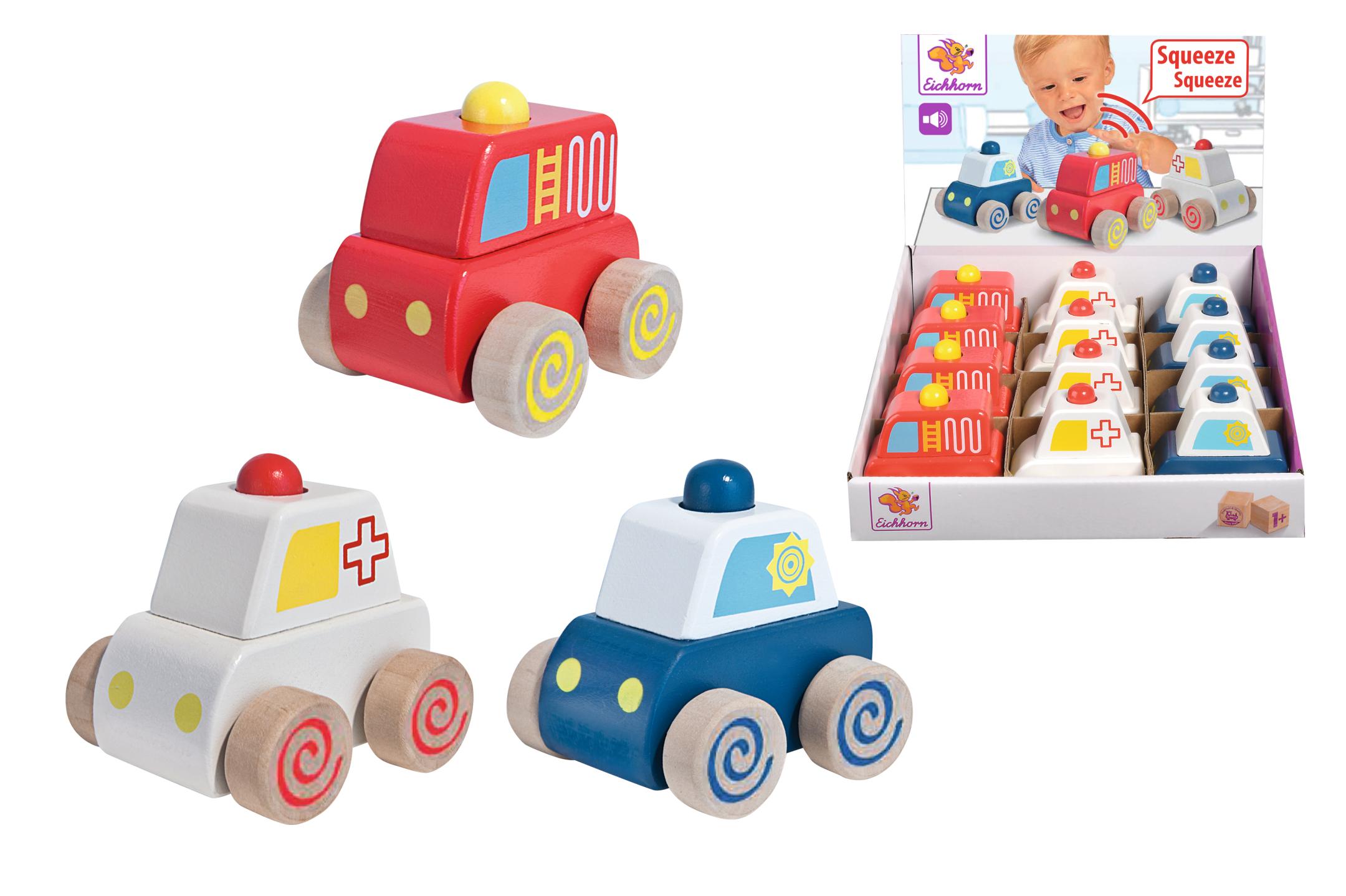 Eichhorn Squeaky Cars 3fs